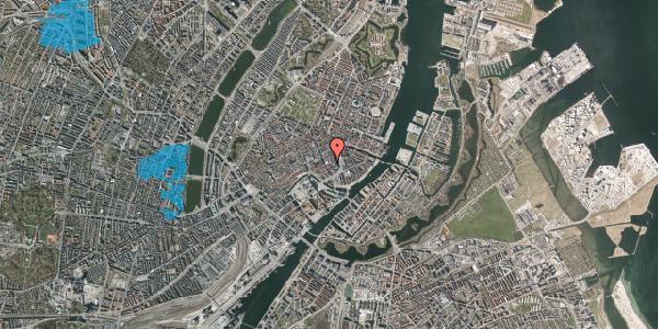 Oversvømmelsesrisiko fra vandløb på Vingårdstræde 9, 2. tv, 1070 København K