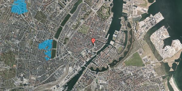 Oversvømmelsesrisiko fra vandløb på Vingårdstræde 11, kl. tv, 1070 København K