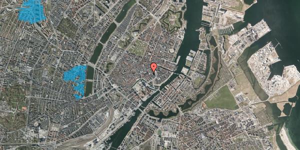 Oversvømmelsesrisiko fra vandløb på Vingårdstræde 11, st. th, 1070 København K