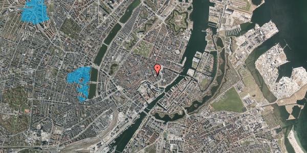 Oversvømmelsesrisiko fra vandløb på Vingårdstræde 18, 1. , 1070 København K