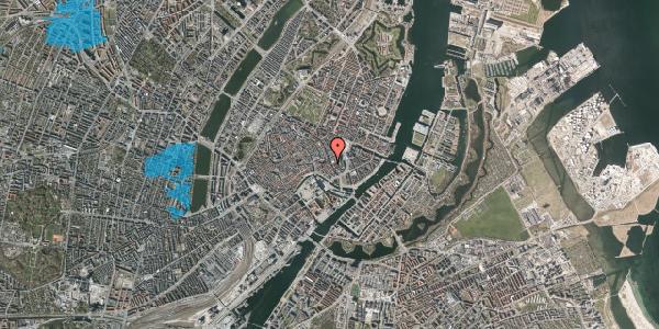Oversvømmelsesrisiko fra vandløb på Vingårdstræde 20, st. 1, 1070 København K