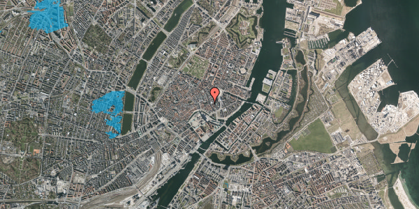 Oversvømmelsesrisiko fra vandløb på Vingårdstræde 20, 2. , 1070 København K