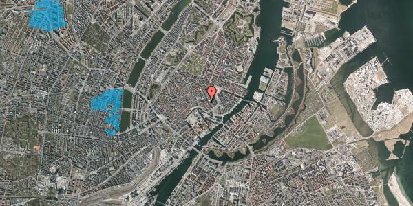 Oversvømmelsesrisiko fra vandløb på Vingårdstræde 21, st. , 1070 København K