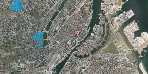 Oversvømmelsesrisiko fra vandløb på Vingårdstræde 21, 1. th, 1070 København K