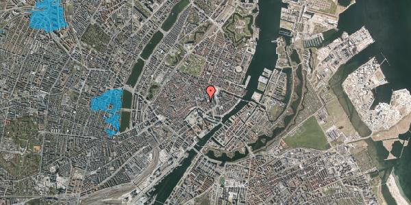 Oversvømmelsesrisiko fra vandløb på Vingårdstræde 22, 2. tv, 1070 København K