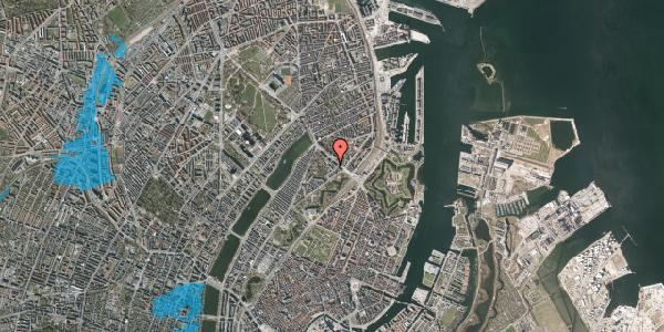 Oversvømmelsesrisiko fra vandløb på Visbygade 12A, 2. mf, 2100 København Ø