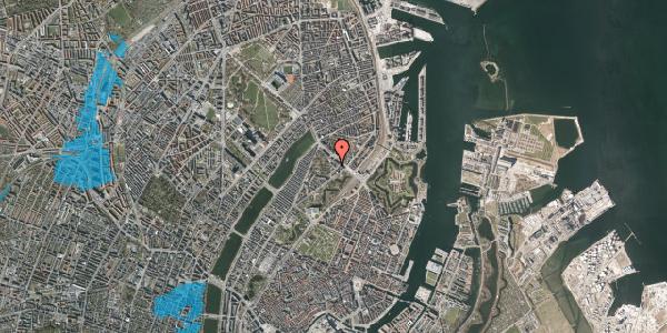 Oversvømmelsesrisiko fra vandløb på Visbygade 12, 4. tv, 2100 København Ø