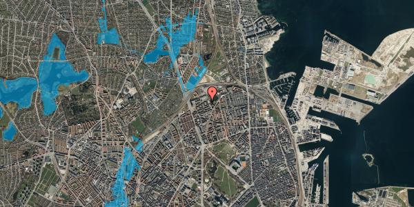 Oversvømmelsesrisiko fra vandløb på Vognmandsmarken 59, 3. tv, 2100 København Ø