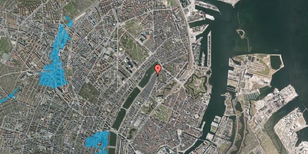 Oversvømmelsesrisiko fra vandløb på Voldmestergade 26, 2100 København Ø