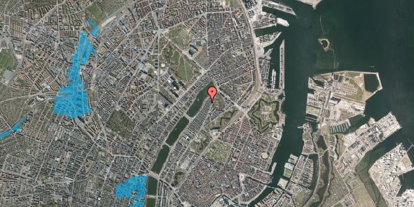 Oversvømmelsesrisiko fra vandløb på Voldmestergade 27, 2100 København Ø