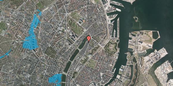Oversvømmelsesrisiko fra vandløb på Voldmestergade 36, 2. , 2100 København Ø