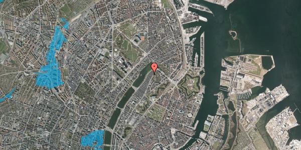 Oversvømmelsesrisiko fra vandløb på Zinnsgade 4, 5. th, 2100 København Ø