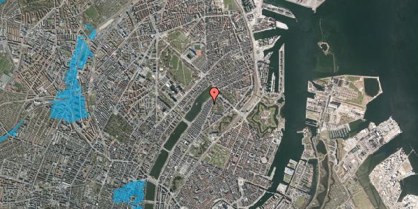 Oversvømmelsesrisiko fra vandløb på Zinnsgade 5, st. , 2100 København Ø