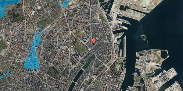 Oversvømmelsesrisiko fra vandløb på Østerbrogade 45, st. tv, 2100 København Ø