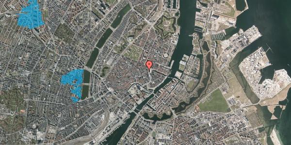 Oversvømmelsesrisiko fra vandløb på Østergade 7, kl. tv, 1100 København K