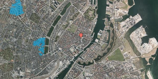 Oversvømmelsesrisiko fra vandløb på Østergade 7, 2. , 1100 København K