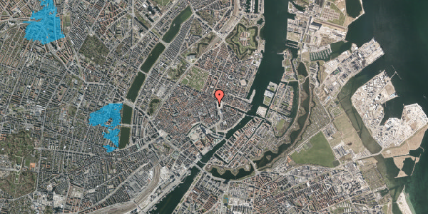 Oversvømmelsesrisiko fra vandløb på Østergade 8, 6. , 1100 København K