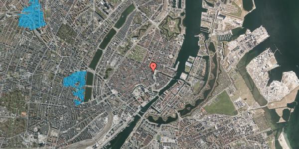 Oversvømmelsesrisiko fra vandløb på Østergade 11, 2. , 1100 København K