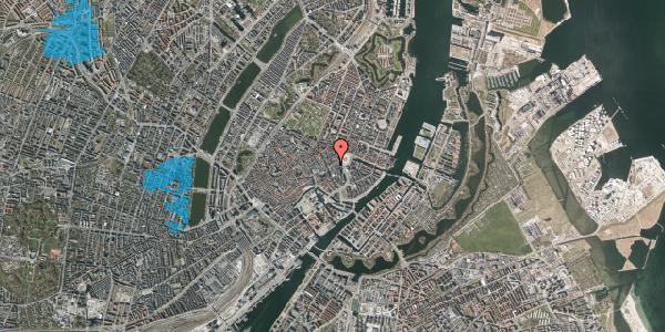 Oversvømmelsesrisiko fra vandløb på Østergade 15, st. 1, 1100 København K
