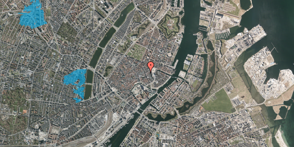 Oversvømmelsesrisiko fra vandløb på Østergade 17, 4. , 1100 København K