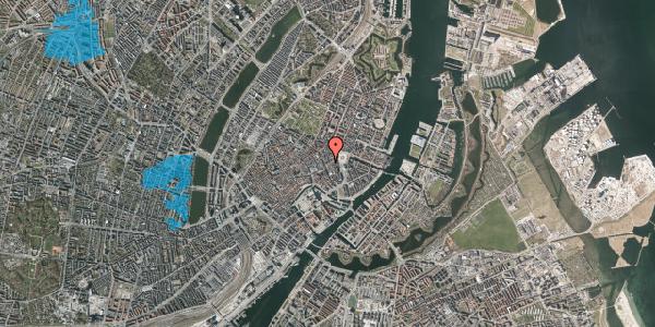 Oversvømmelsesrisiko fra vandløb på Østergade 24A, 3. , 1100 København K