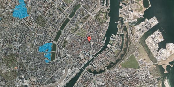 Oversvømmelsesrisiko fra vandløb på Østergade 24C, 3. 1, 1100 København K