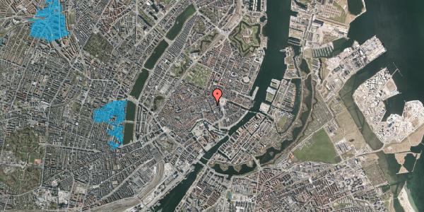 Oversvømmelsesrisiko fra vandløb på Østergade 26A, st. 1, 1100 København K