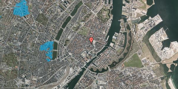 Oversvømmelsesrisiko fra vandløb på Østergade 32, 1. , 1100 København K