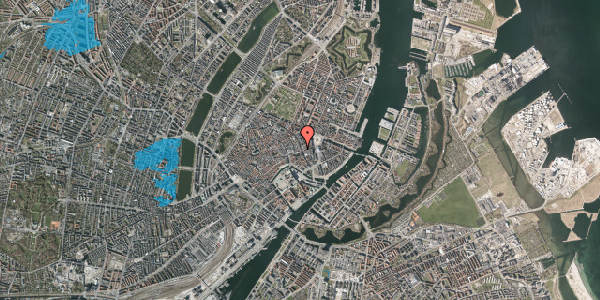 Oversvømmelsesrisiko fra vandløb på Østergade 33, 1. , 1100 København K