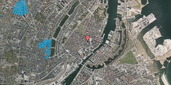 Oversvømmelsesrisiko fra vandløb på Østergade 33, 3. , 1100 København K