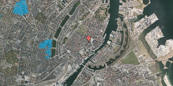 Oversvømmelsesrisiko fra vandløb på Østergade 35, st. , 1100 København K