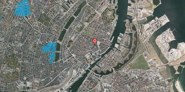 Oversvømmelsesrisiko fra vandløb på Østergade 38, 1. 1, 1100 København K