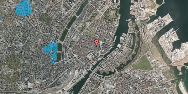Oversvømmelsesrisiko fra vandløb på Østergade 47, st. tv, 1100 København K