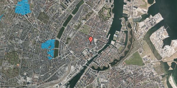 Oversvømmelsesrisiko fra vandløb på Østergade 53, 1. , 1100 København K