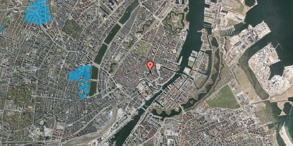 Oversvømmelsesrisiko fra vandløb på Østergade 55, 1. , 1100 København K