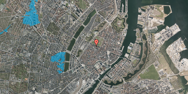Oversvømmelsesrisiko fra vandløb på Åbenrå 5, kl. , 1124 København K