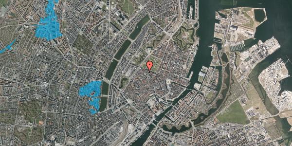 Oversvømmelsesrisiko fra vandløb på Åbenrå 5, st. tv, 1124 København K