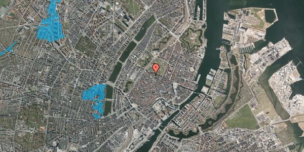 Oversvømmelsesrisiko fra vandløb på Åbenrå 5, 2. tv, 1124 København K