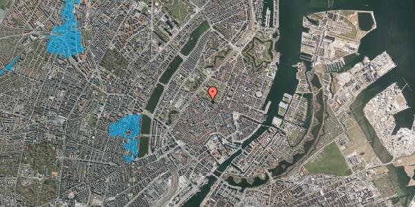 Oversvømmelsesrisiko fra vandløb på Åbenrå 6, st. , 1124 København K