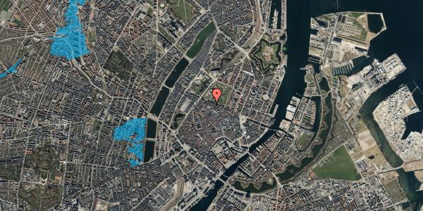 Oversvømmelsesrisiko fra vandløb på Åbenrå 18, 4. , 1124 København K