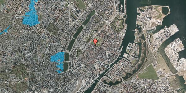 Oversvømmelsesrisiko fra vandløb på Åbenrå 20, st. th, 1124 København K