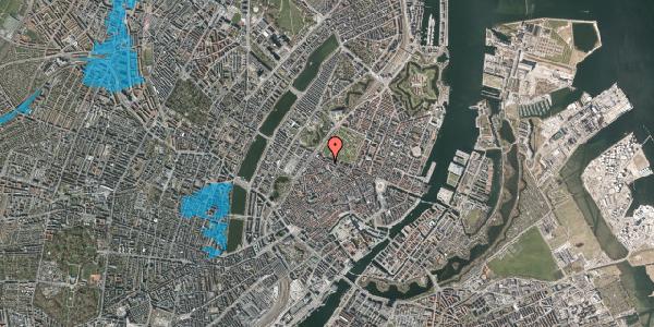 Oversvømmelsesrisiko fra vandløb på Åbenrå 23, st. , 1124 København K