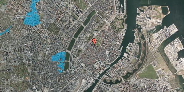 Oversvømmelsesrisiko fra vandløb på Åbenrå 27, st. , 1124 København K