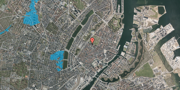 Oversvømmelsesrisiko fra vandløb på Åbenrå 27, 2. , 1124 København K