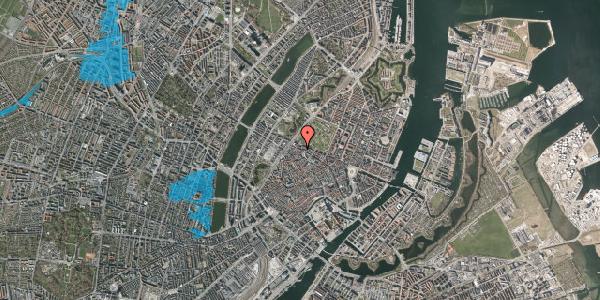 Oversvømmelsesrisiko fra vandløb på Åbenrå 31, 3. tv, 1124 København K