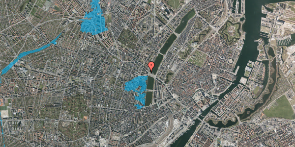 Oversvømmelsesrisiko fra vandløb på Åboulevard 1, 5. th, 1635 København V