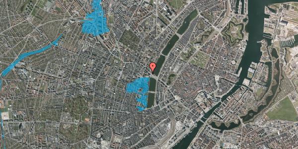 Oversvømmelsesrisiko fra vandløb på Åboulevard 3, 2. th, 1635 København V