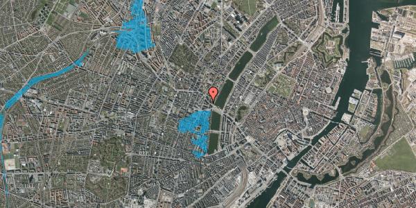 Oversvømmelsesrisiko fra vandløb på Åboulevard 7, 2. tv, 1635 København V