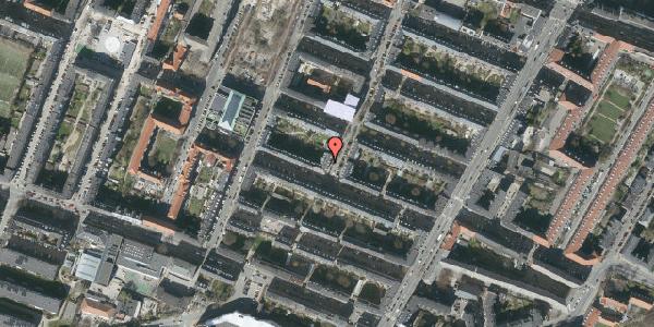 Oversvømmelsesrisiko fra vandløb på Adilsvej 16, 3. th, 2000 Frederiksberg