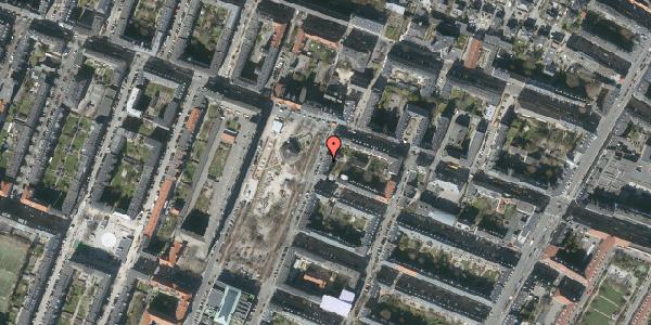 Oversvømmelsesrisiko fra vandløb på Aksel Møllers Have 3, 3. th, 2000 Frederiksberg